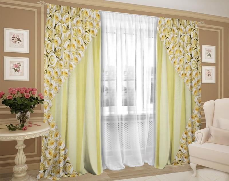 Купить готовые шторы тюль в интернет-магазине
