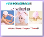 Шапочки-полотенце для сушки волос из  микроволокна,после душа Turbie Twist (2 ШТ. В КОМПЛЕКТЕ)