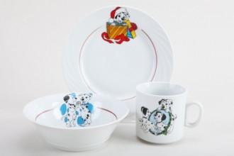Набор детской посуды 1/3 Далматинцы