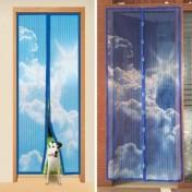 Антимоскитная сетка на дверь НЕБО