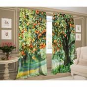 Комплект штор Апельсиновое дерево