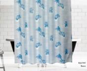 Штора для ванной Дельфины