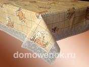 Скатерть виниловая на фланелевой основе