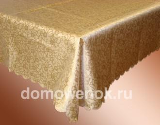 Скатерть тефлоновая прямоугольная «Золото»
