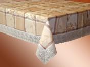 Виниловая скатерть на фланелевой основе