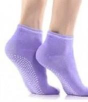 Носки противоскользящие для занятий йогой закрытые
