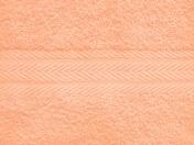 Полотенце однотонное (цвет: персиковый)