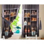Комплект штор для кухни Арабика