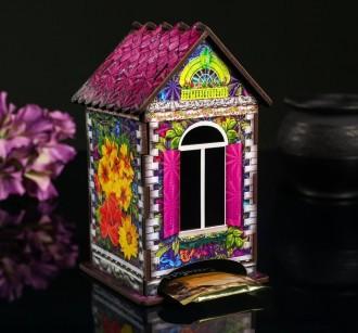 Чайный домик «Домик с цветами»