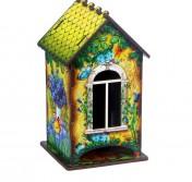 Чайный домик «Домик с корзинкой цветов»