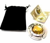 Держатель-крючок для сумок Элегант (золото)