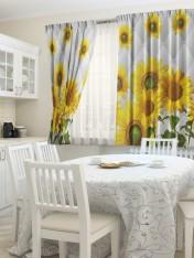 К-кт штор кухня «Флорист»