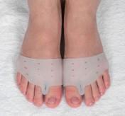 Корректоры для пальцев ног, с разделителем