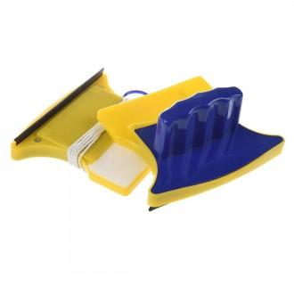 Магнитная щётка для мытья окон