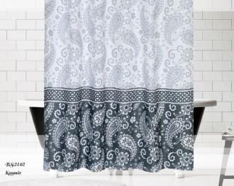 Штора для ванной Монохром