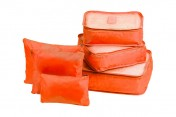 Набор чехлов (6 шт), цвет: оранжевый
