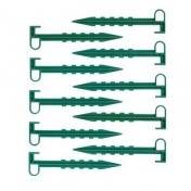 Набор колышков для зажима укрывного материала (10 шт) h-14 см
