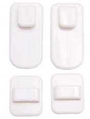 Настенные вешалки- крючки самоклеющиеся (2 шт)