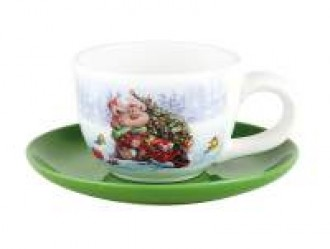 Пара чайная «Новогоднее чудо»