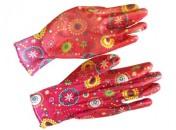 Перчатки LISTOK хозяйственные, нейлоновые с нитриловым покрытием