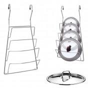 Подставка для крышек навесная на рейлинг
