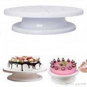 Подставка для торта вращающаяся (пластик)