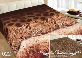 Покрывало «Леопарды» (двустороннее)