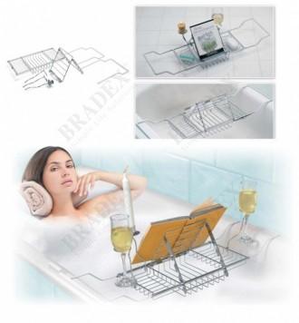Полка для ванны «МАЛЬДИВЫ» Bathroom Bathtub Caddy