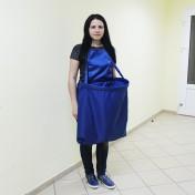 ФАРТУК ДЛЯ СБОРА УРОЖАЯ HARVEST BAGS НА МОЛНИИ ВАСИЛЬКОВЫЙ