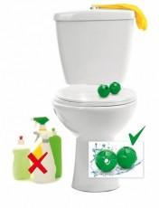 Шары магнитные для чистки туалета 2 шт