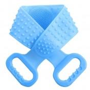 Силиконовая массажная мочалка-щетка для тела