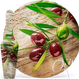 Тортовница с лопаткой «Оливки»