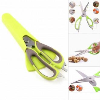 Универсальные кухонные ножницы 10 в 1
