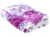 Плед Фиолетовые цветы