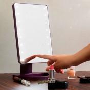 Косметическое зеркало с подсветкой (прямоугольное)